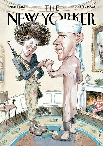 Barack Obama magazine front covers - The New Yorker