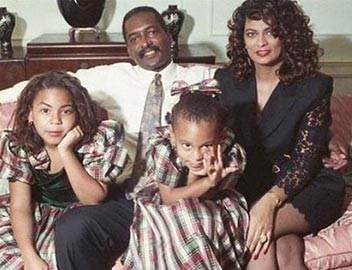 music-celebrity-beyonce-salonge-and-parents-black-native-american-picture-photo