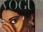 donyale luna black fashion model first vogue cover 1966