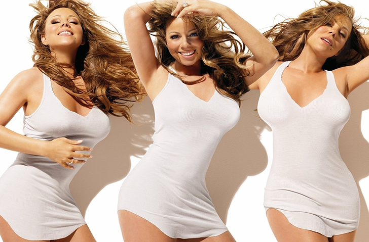 music-celebrity-mariah-carey-ethnicity-black-white-mixed-image-photograph