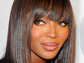 naomi campbell black fashion model beauty close-up