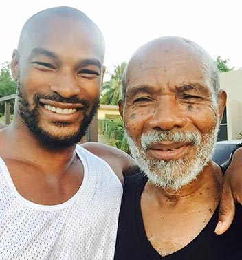 black-fashion-model-tyson-beckford-parents-father-lloyd-photo-picture